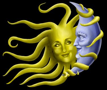 Sun Moon Clip Art